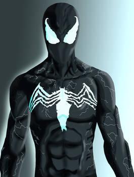 Symbiote Spider-Man- Venom Style