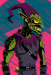 Classic Green Goblin- ITSV style by Soyelmejor999
