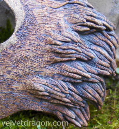 Fox Mask, Detail by tser