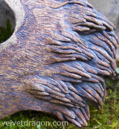 Fox Mask, Detail by tser