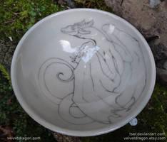 Clinging Dragon Bowl