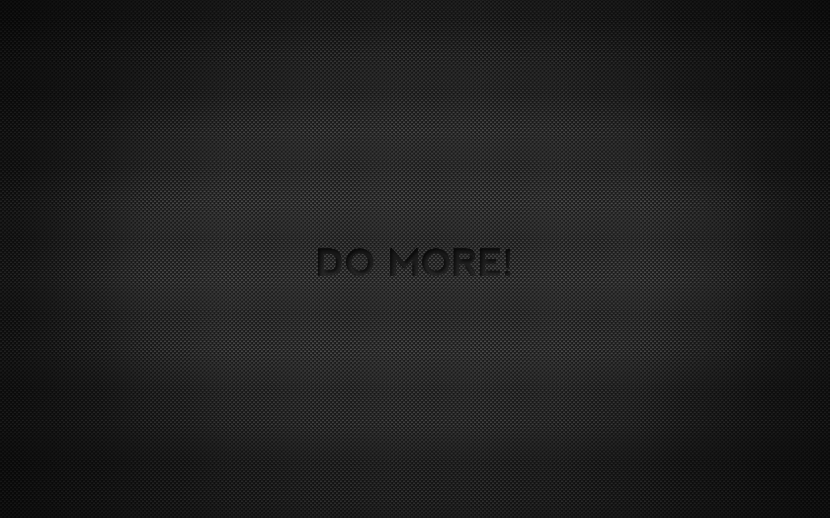 Carbon Wallpaper - Do More by buchlos