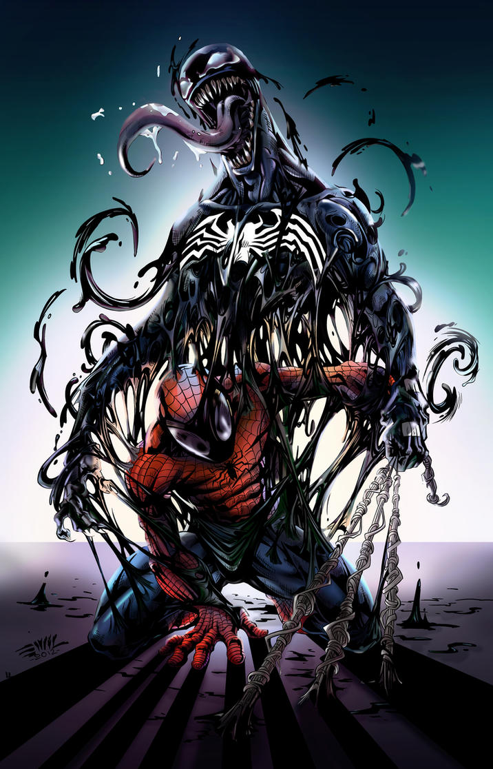 Spider Man by Emilcabaltierra Color by kcspaghetti