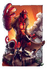 Hellboy by Edufrancisco_Colors