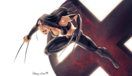 X-23 by kcspaghetti