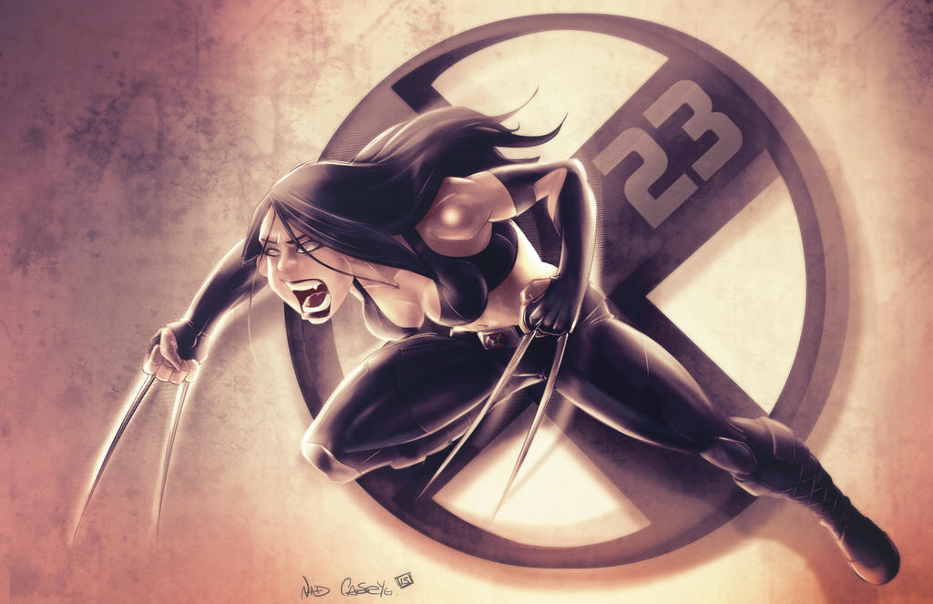 X-23 variation by kcspaghetti