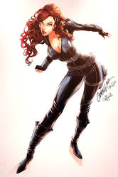 Black Widow by kcspaghetti