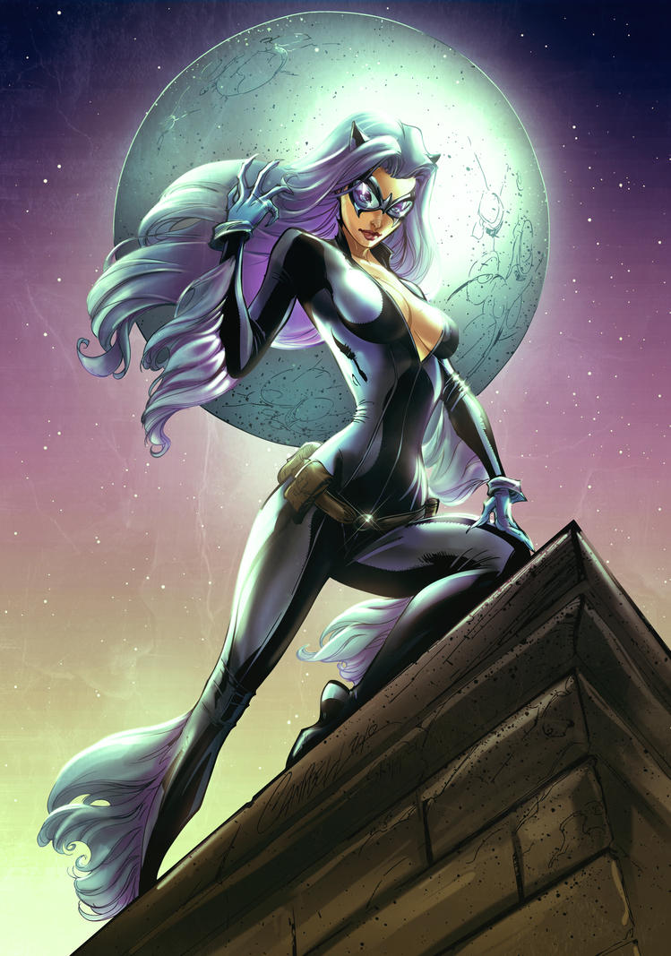 Blackcat On The Prowl Kc  Colors 6 by kcspaghetti