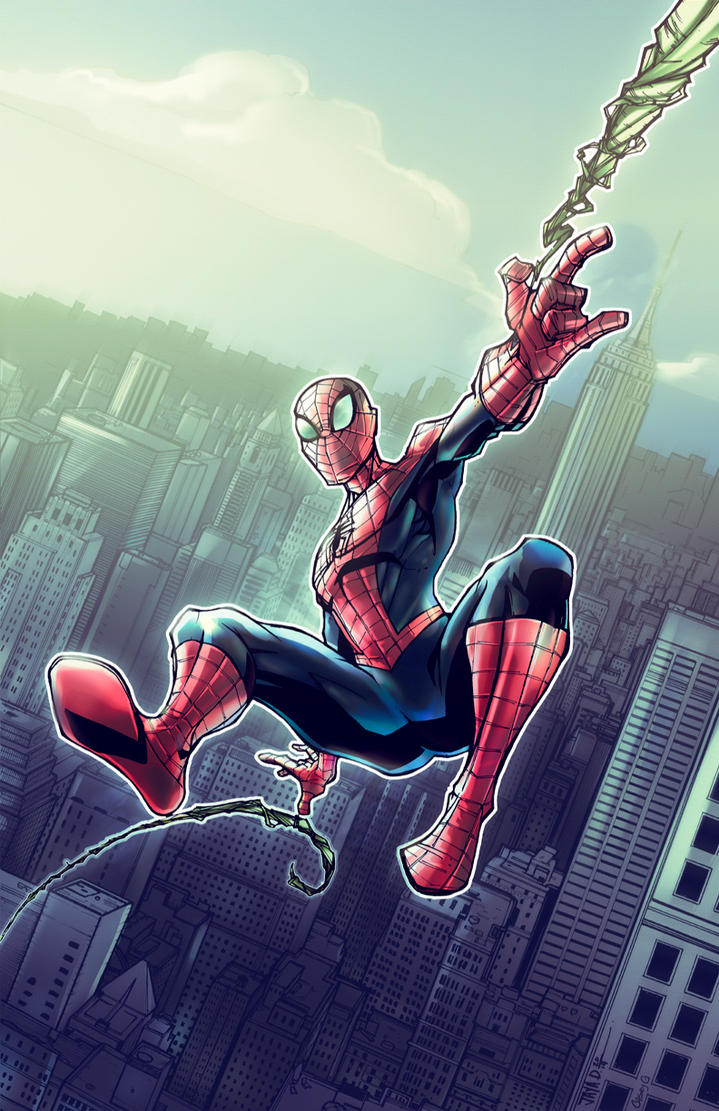 Amazing spider man cartoon peter parker - photo#12