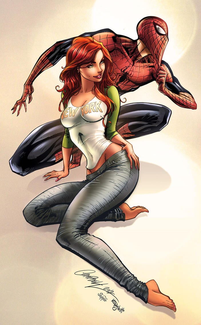 Spidey and MJ Colors by kcspaghetti