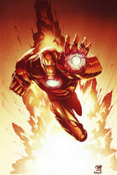 Iron Man by kcspaghetti
