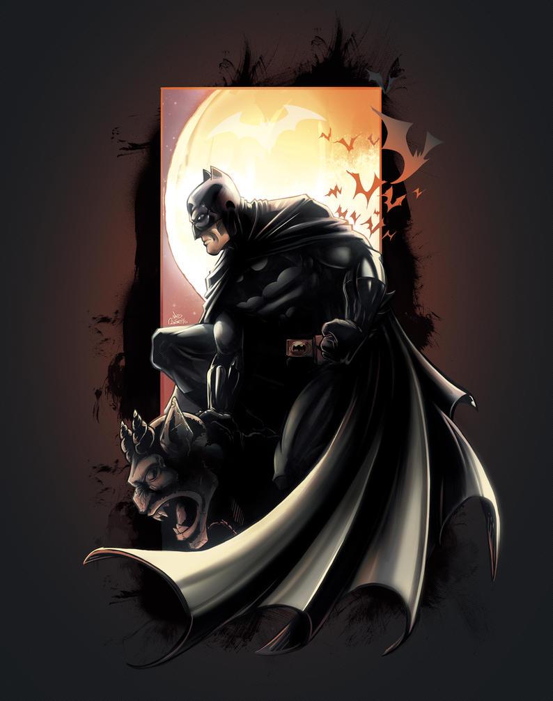 Batman by kcspaghetti