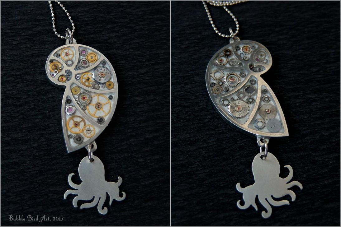 Pearl mermaid necklace close ups by ikushikush on deviantart for Pearl arts and crafts closing