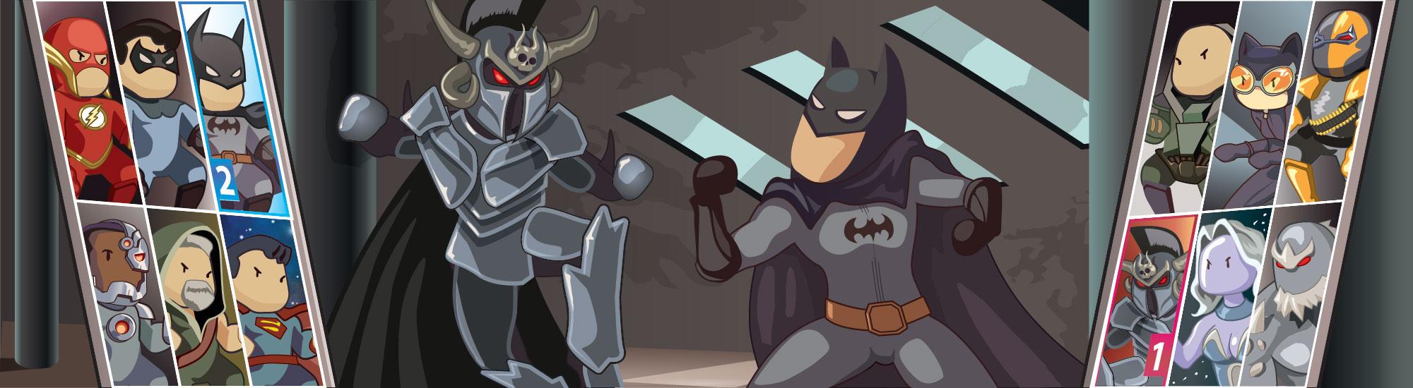 Ares vs Batman by Nekaris