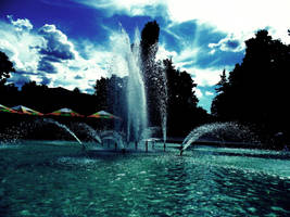 Majestic fountains by knejevi4