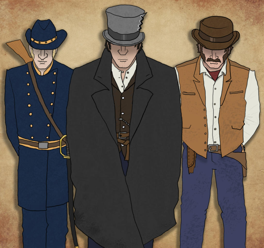 Western heroes by Rygorg