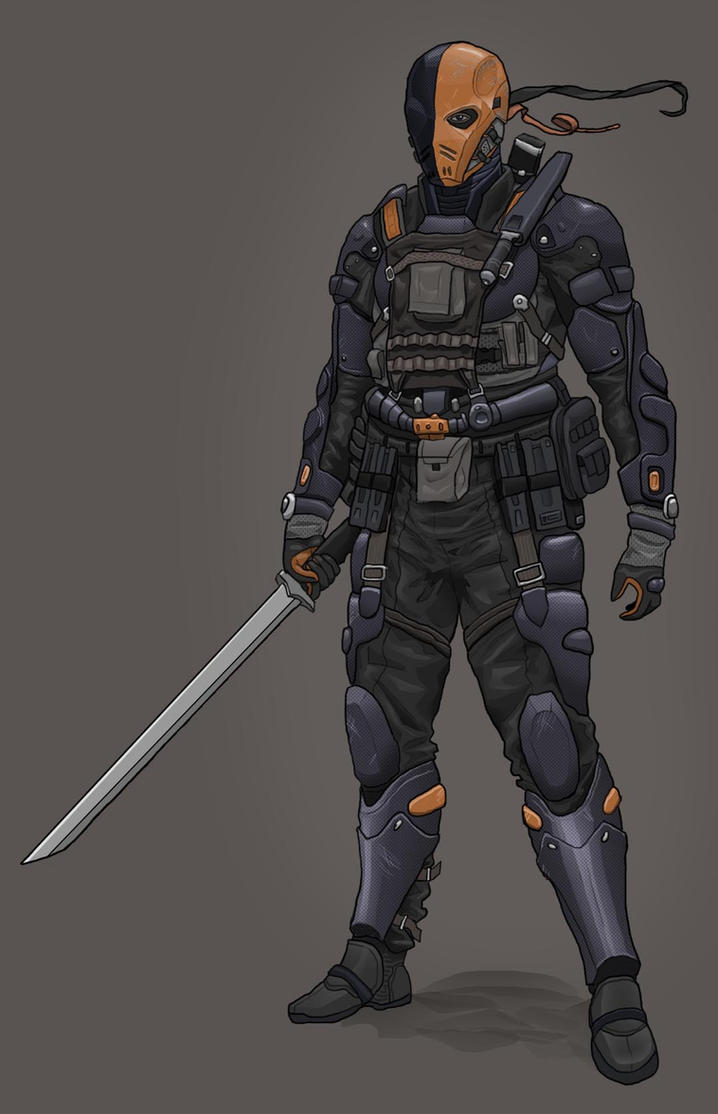 Deathstroke v2 by Rygorg