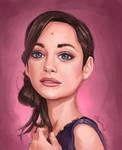 Marion Cotillard Portrait