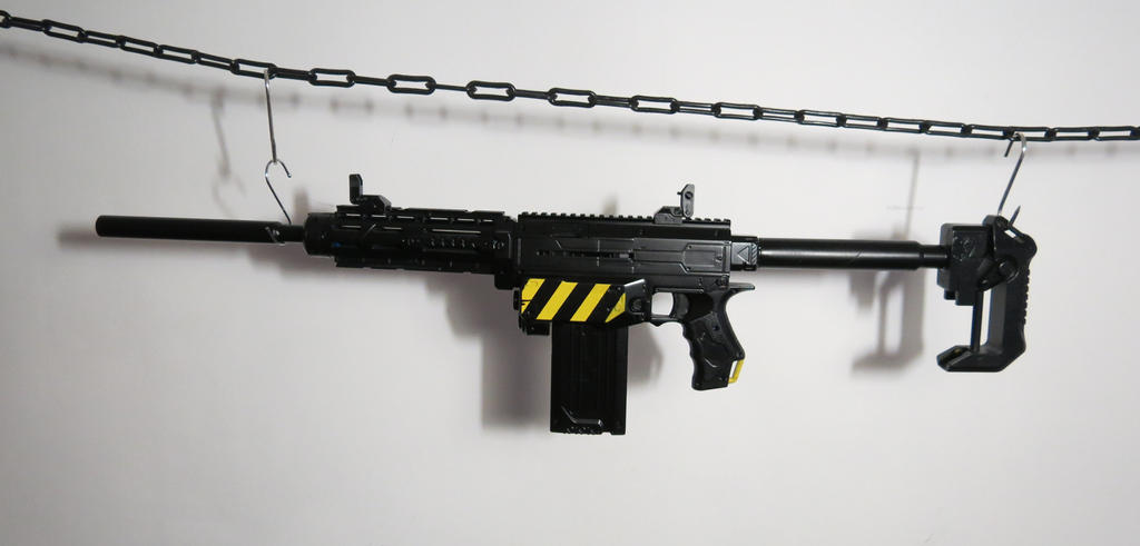 UK Worker Mod Shoulder Stock Replacement for Nerf N-Strike Elite Retaliator  Toy
