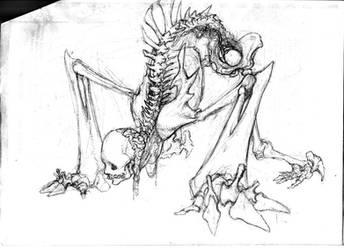 bone creature 08 by waychyuan