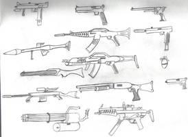 The Guns by BlazingScorch