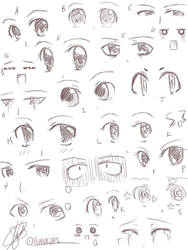 Anime Eyes by Harukarix3