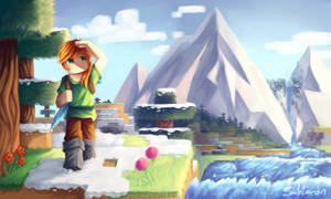 Minecraft - Forest Wanderer