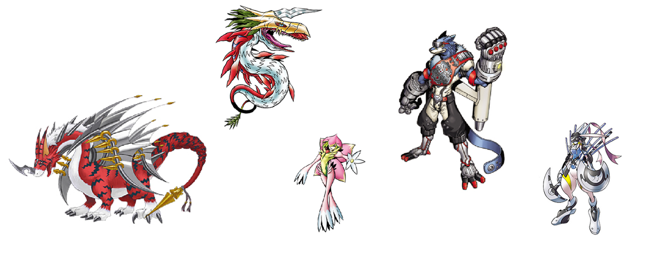 Lunamon Evolution Chart Digimon Mega Ba...