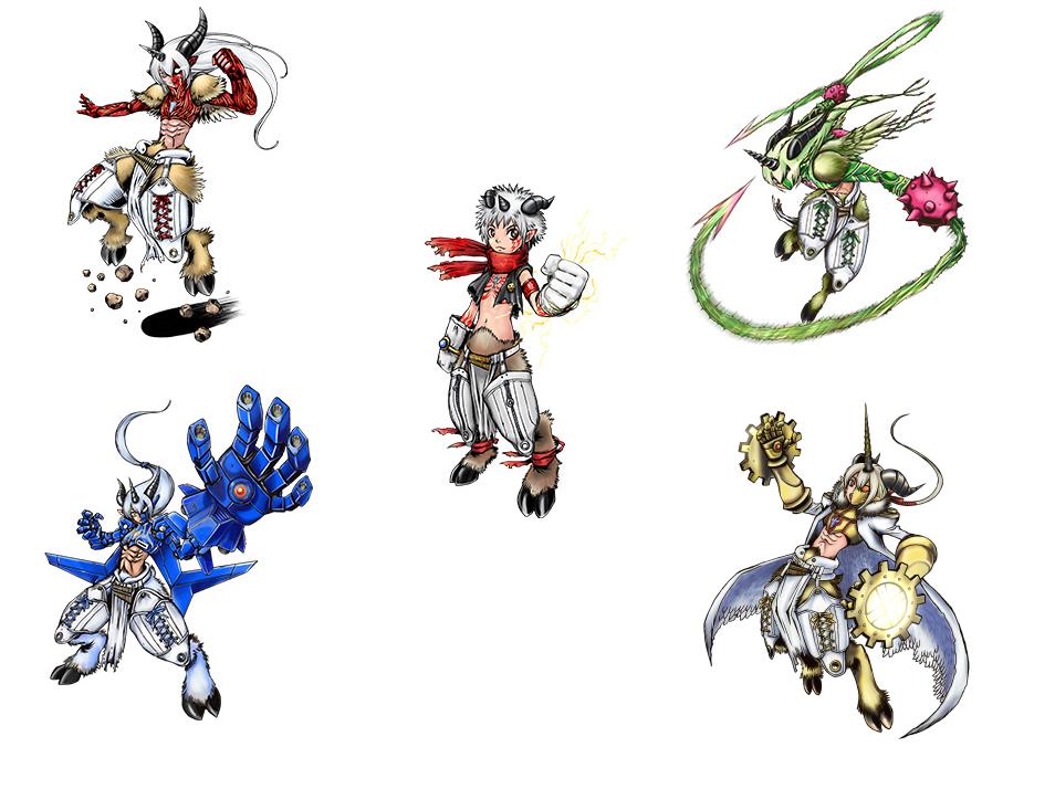 Numemon evolution