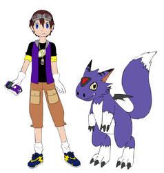 Miguel Digimon Tamer by coleroboman