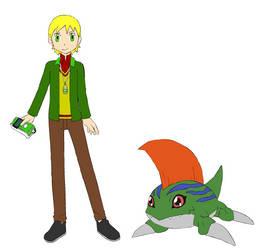 Tyler Digimon Tamer by coleroboman