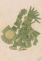 Huitzilopochtli by totemica