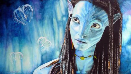 Avatar's Neytiri by Nathalief87