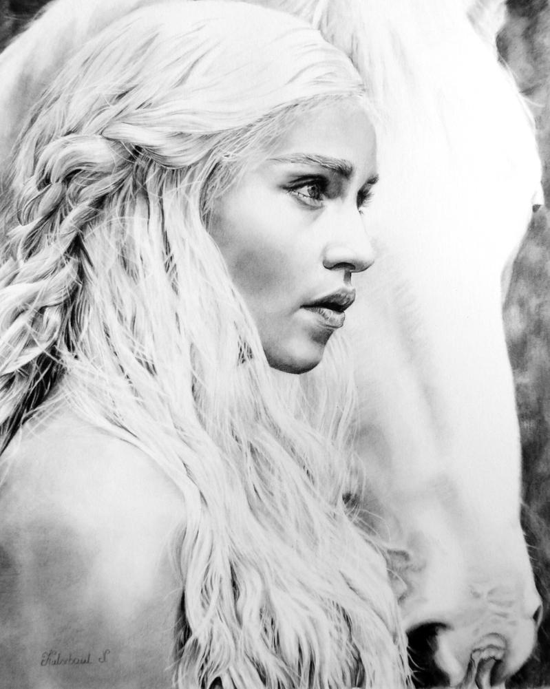 Daenerys Targaryen by Nathalief87
