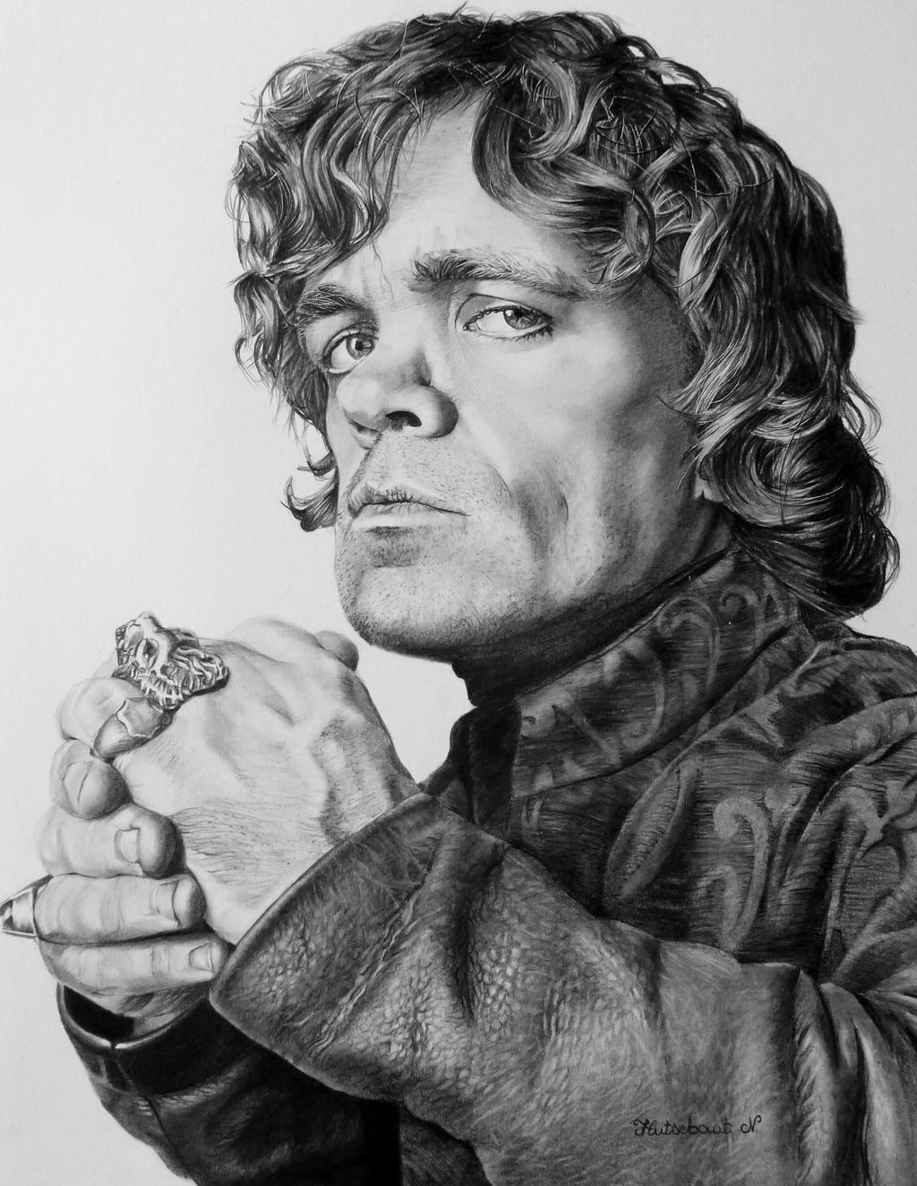 tyrion lannister by nathalief87 fan art traditional art drawings    Tyrion Lannister Fan Art