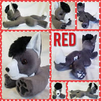 Red The Wolf Plushie!