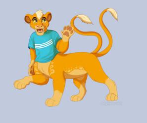 Introducing Leo The Liontaur!