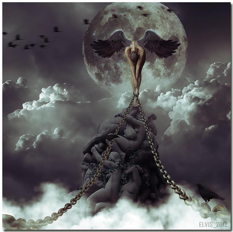 Birth of Venus illegitima by Elvisegp