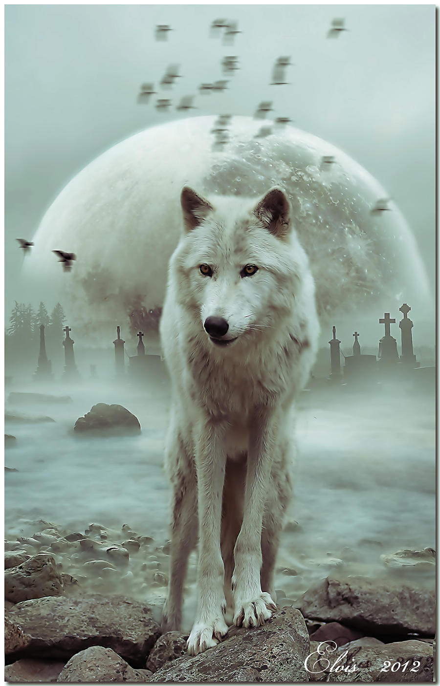 King of wolves by Elvisegp on DeviantArt