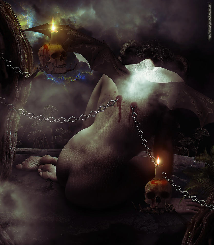 Lonely demon by Elvisegp
