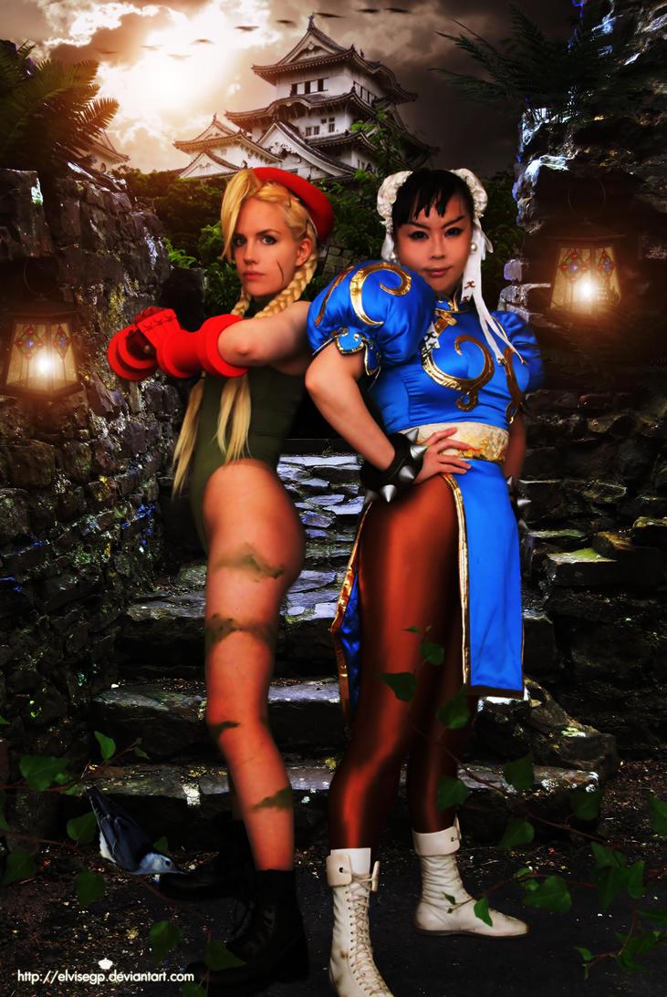Street fighter girls by Elvisegp