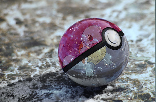 Squirtle Pokeball