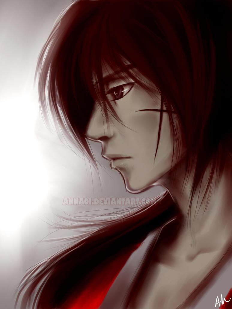 Kenshin Himura by annaoi
