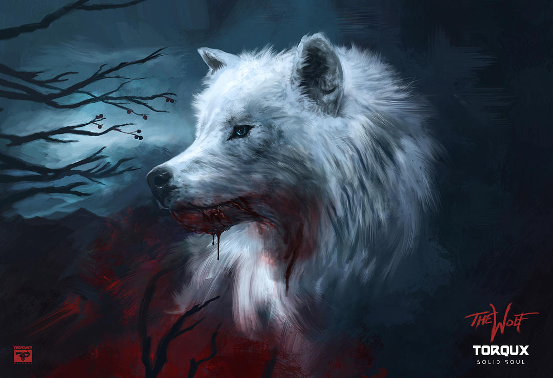 The Wolf by solidsoulart