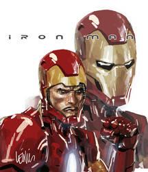 iron man by leinilyu