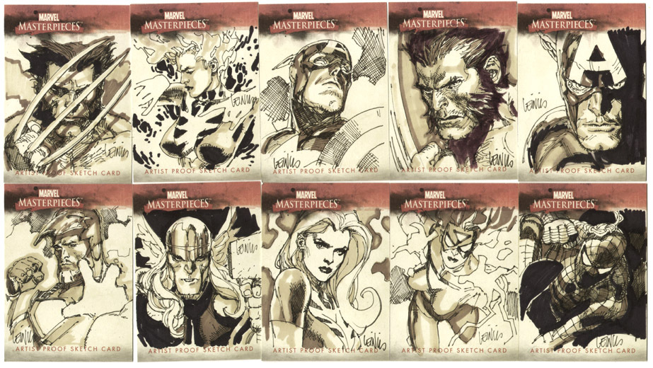 sketchcards by leinilyu