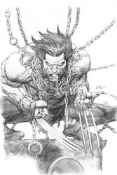 Wolverine SDCC print pencils