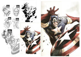 Captain America Reborn by leinilyu