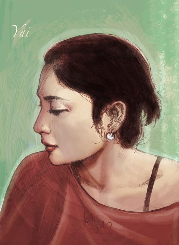 wife portrait by leinilyu