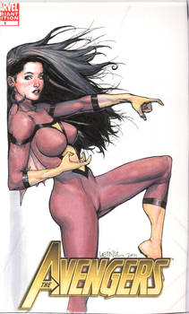 spider-woman commission